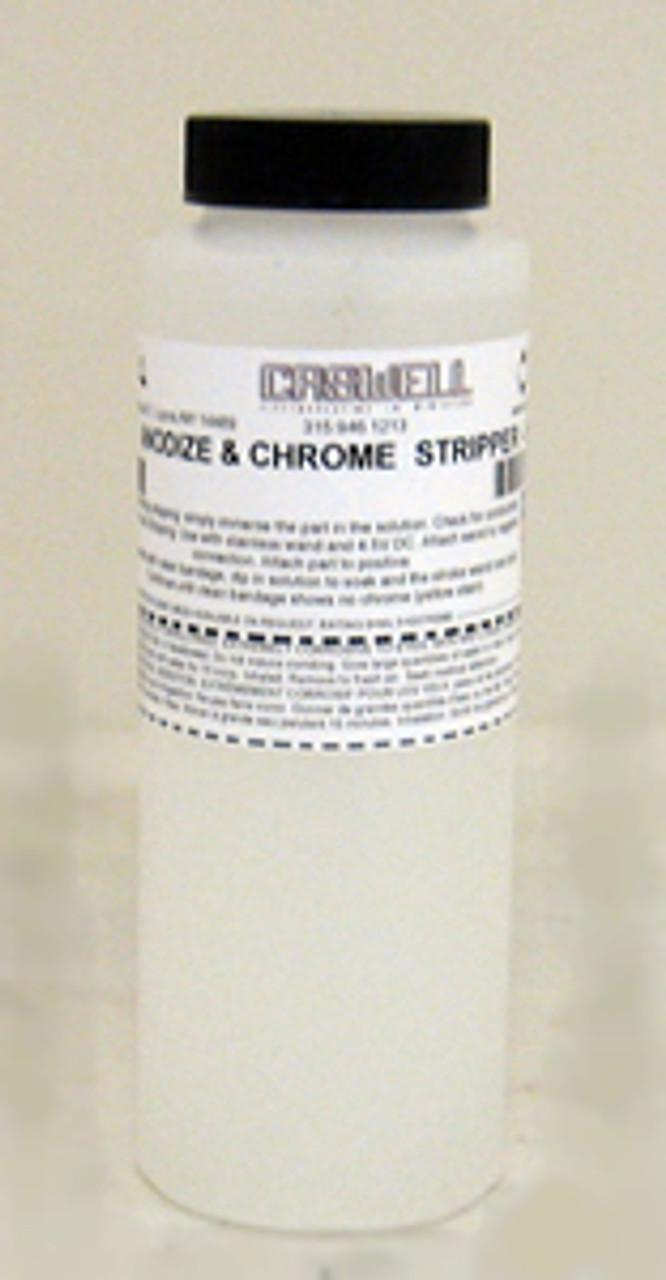 ANODIZE & CHROME  STRIPPER - 8 OZ