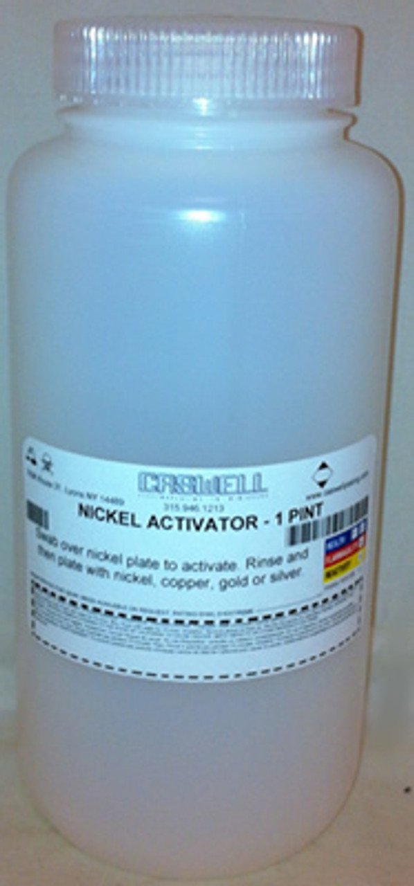 NICKEL ACTIVATOR - 1 QUART