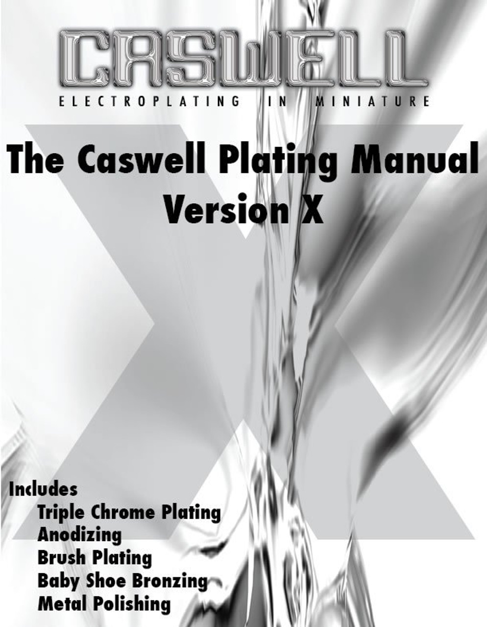 Caswell Downloadable Plating Manual (E-Book)