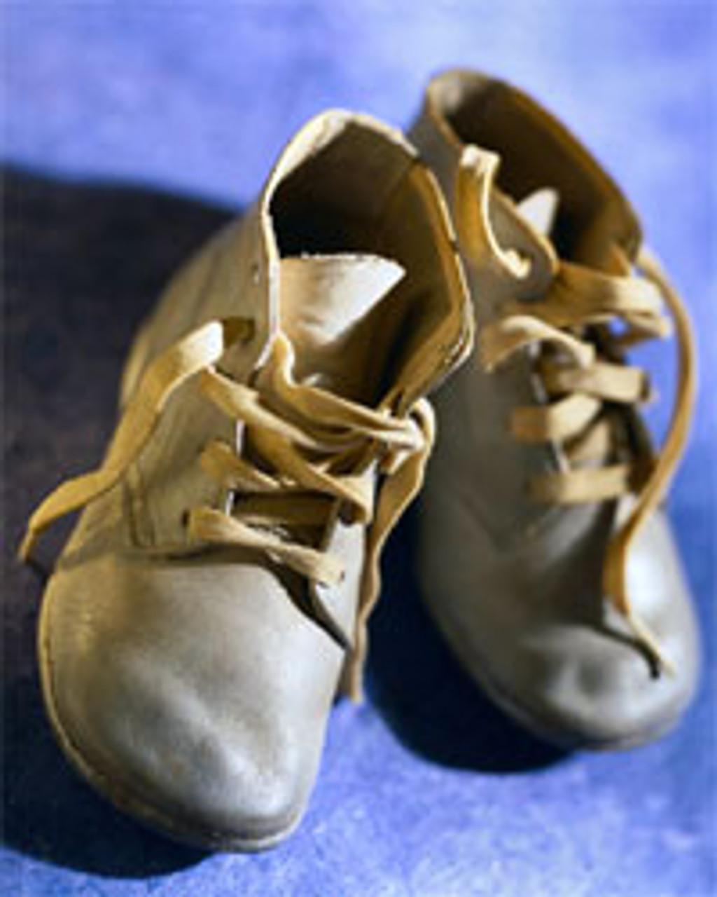 Complete Baby Shoe Bronzing Kit
