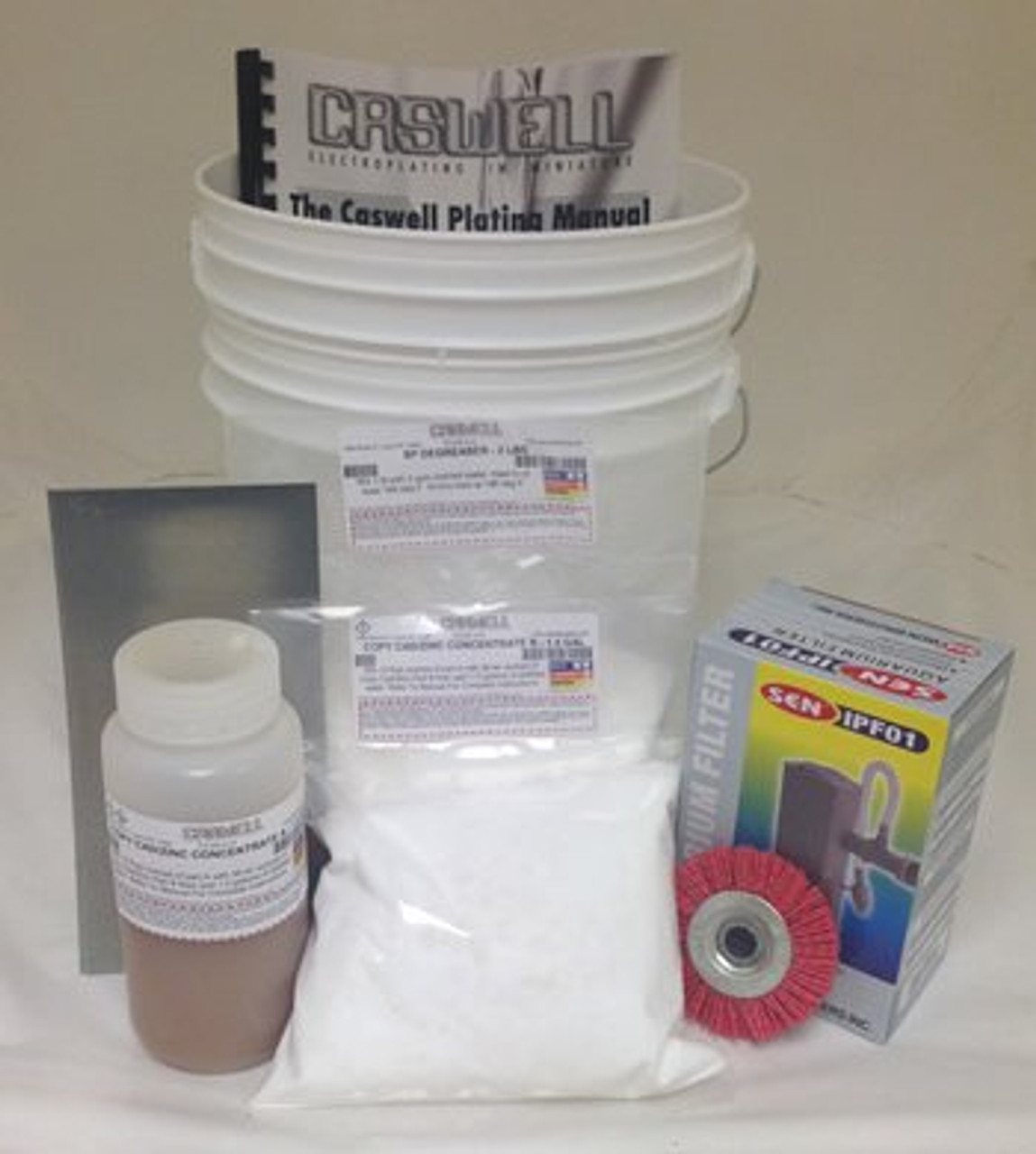 Copy Cad & Zinc Plating Kit - 1.5 Gal