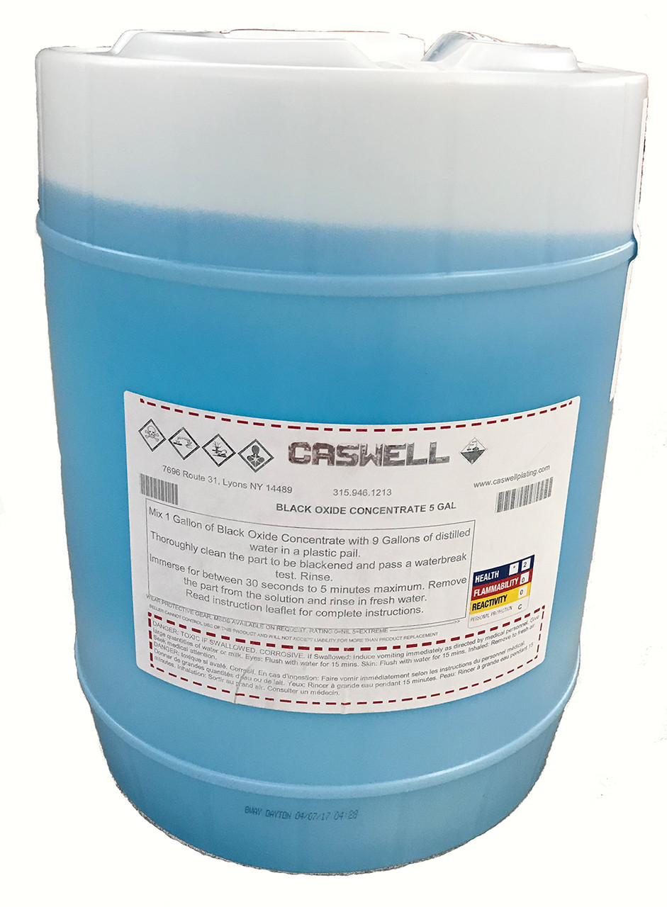 BLACK OXIDE CONCENTRATE 5 GAL