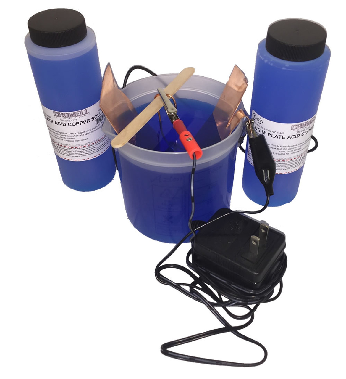 Caswell Science Plating Kit - Acid Copper Plating