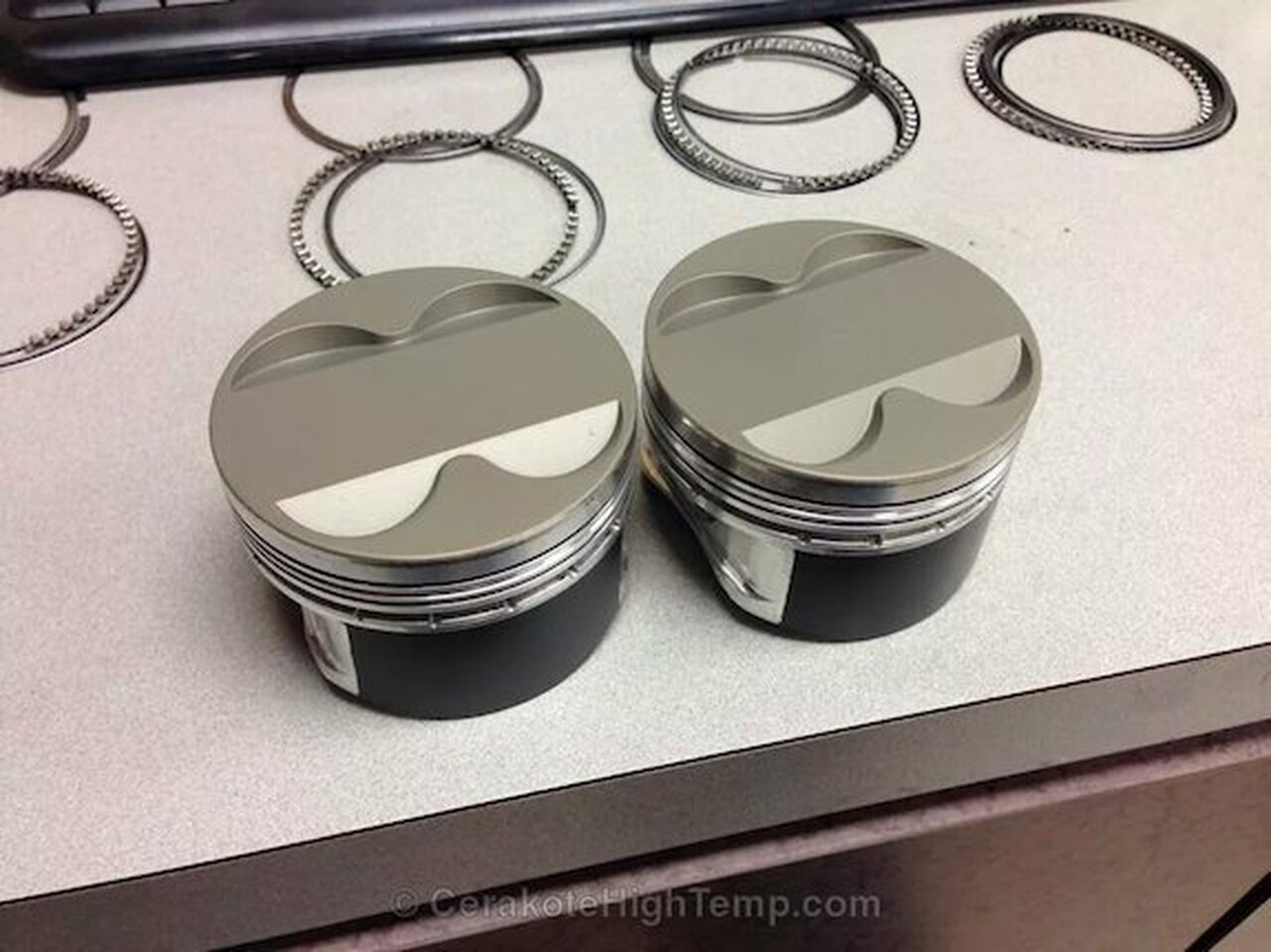 Cerakote Piston Coat Ceramic Thermal Barrier
