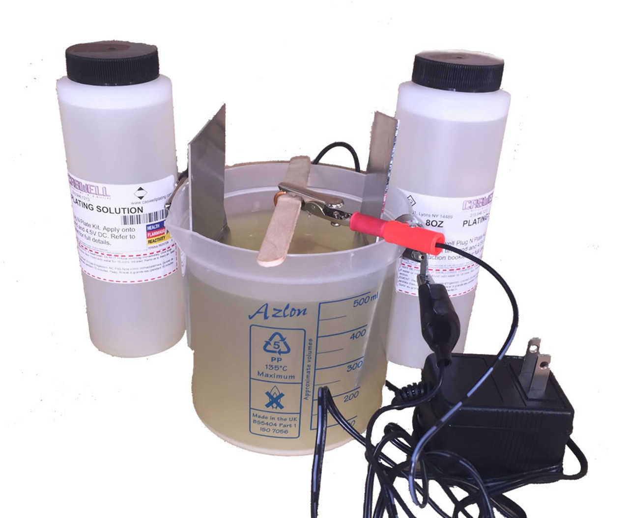 Caswell Science Plating Kit - Silver Plating