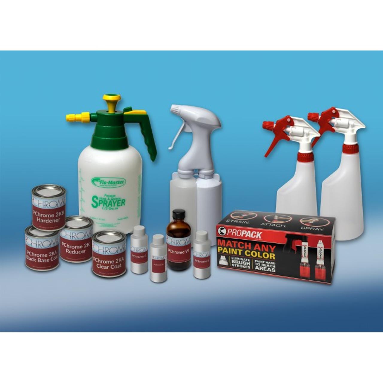 Spray On Chroming System - 25-50 square feet