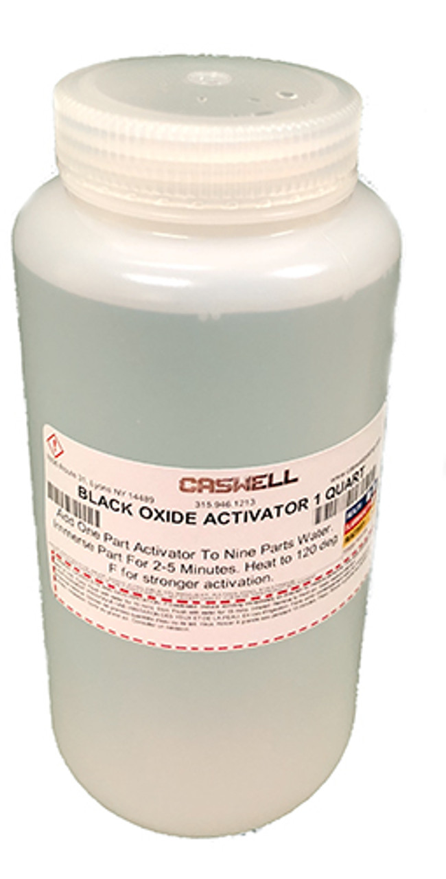 Black Oxide Activator 1 Quart (Makes 2.5 Gallons)