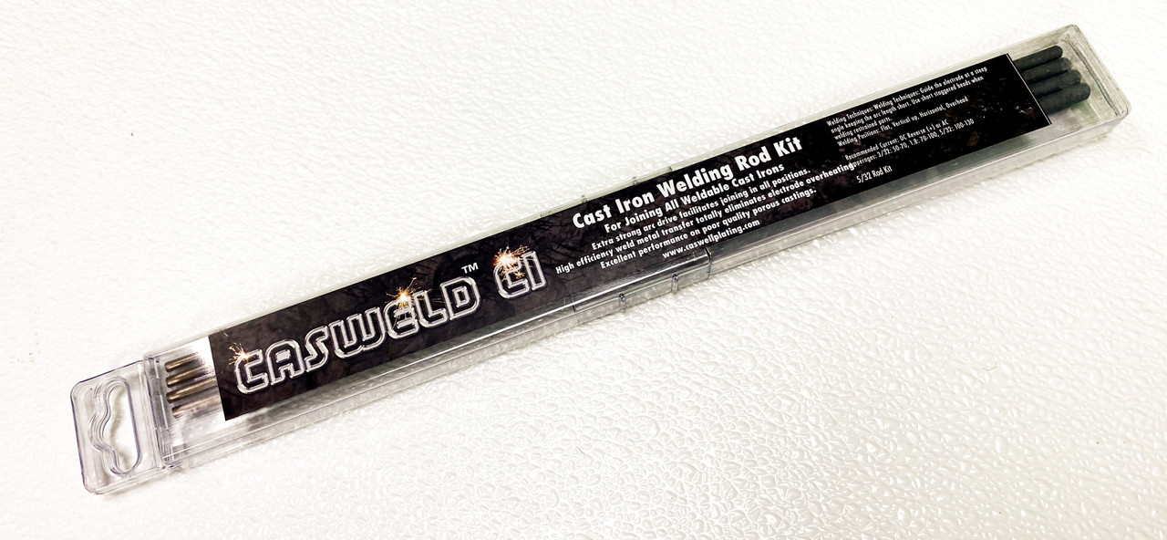 Casweld™ CI Cast Iron Welding Rod Kit
