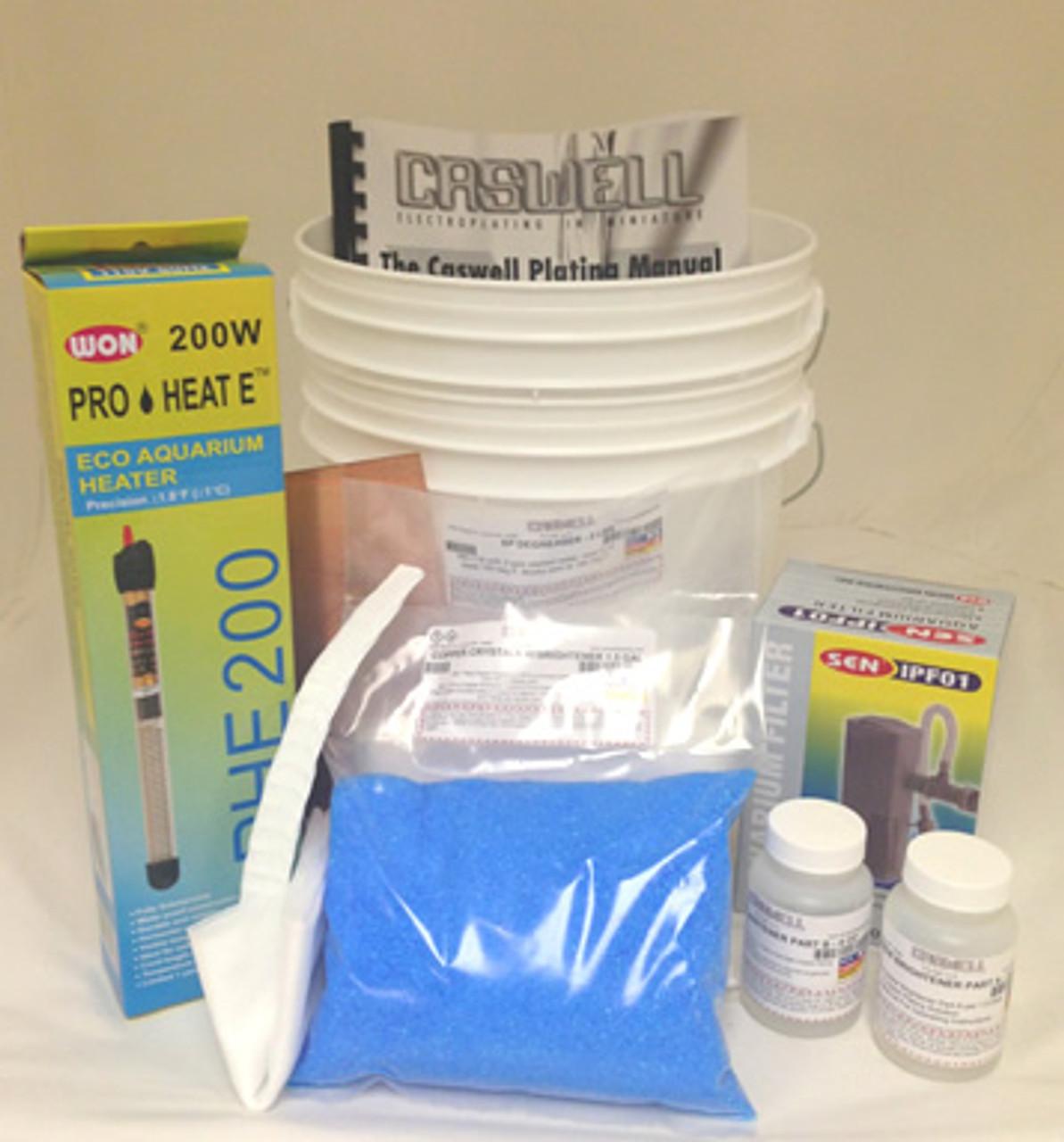 Bright Acid Copper Plating Kit - 15 Gal