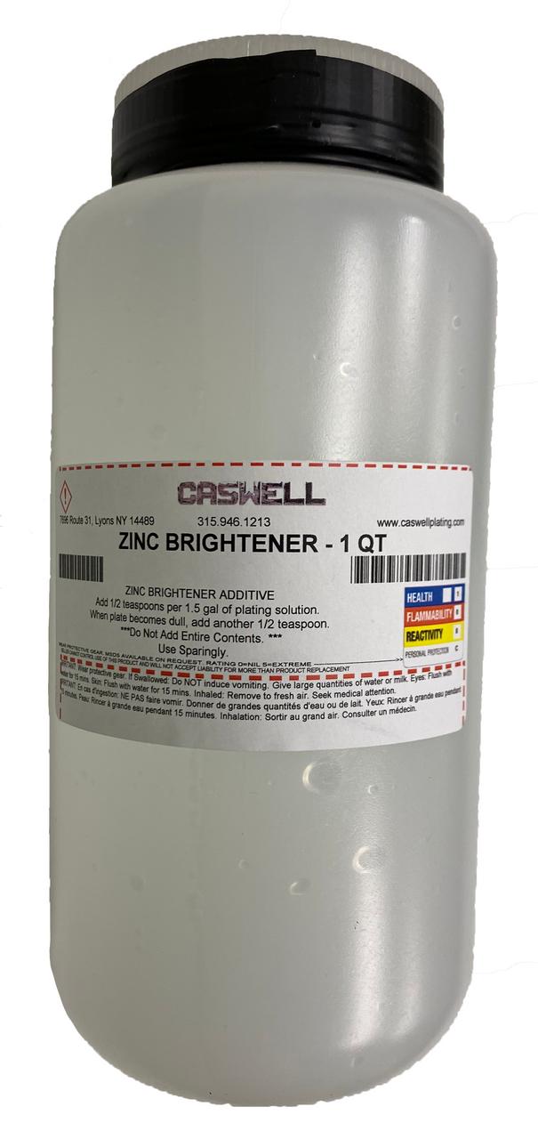 ZINC BRIGHTENER - 1 QT