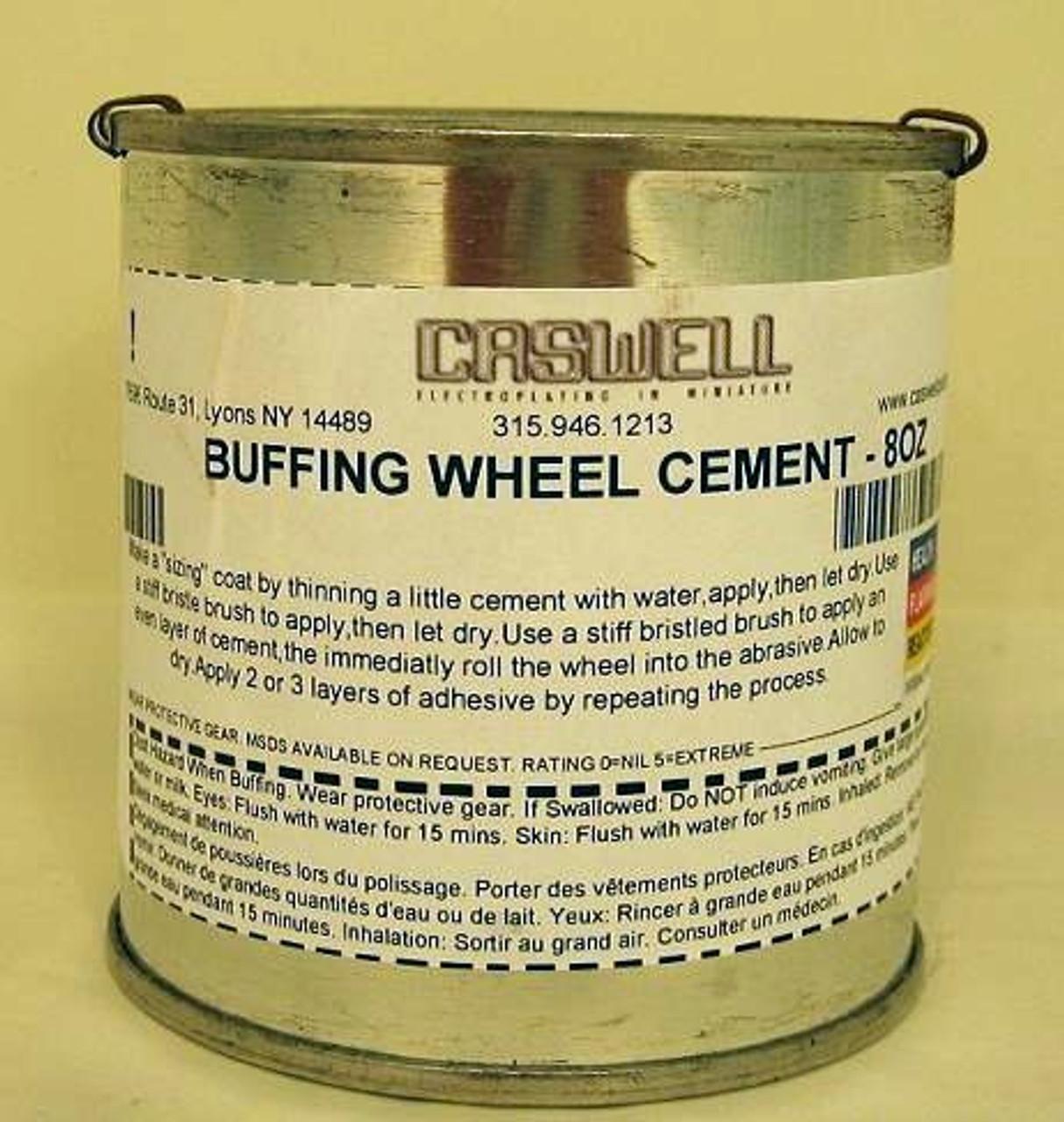 BUFFING WHEEL CEMENT - 8OZ