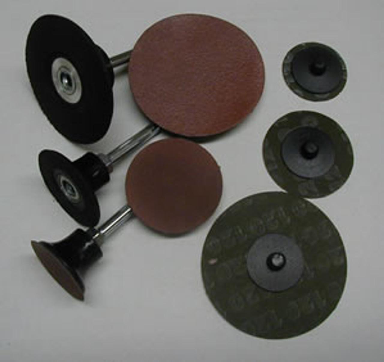 "Aluminum Oxide Sanding Disk 1.5"" - 100 Grit"