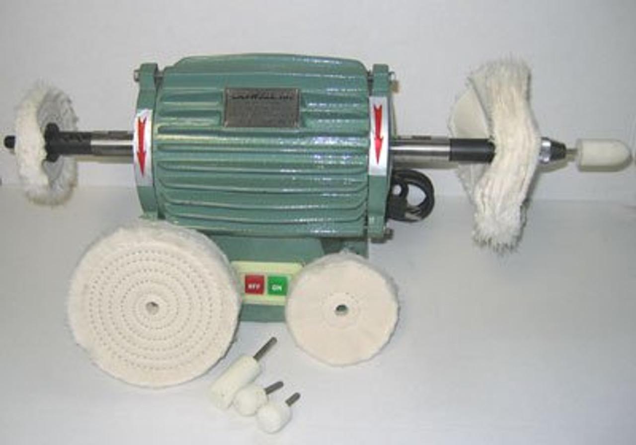 Buffing Machine With Chuck Kit