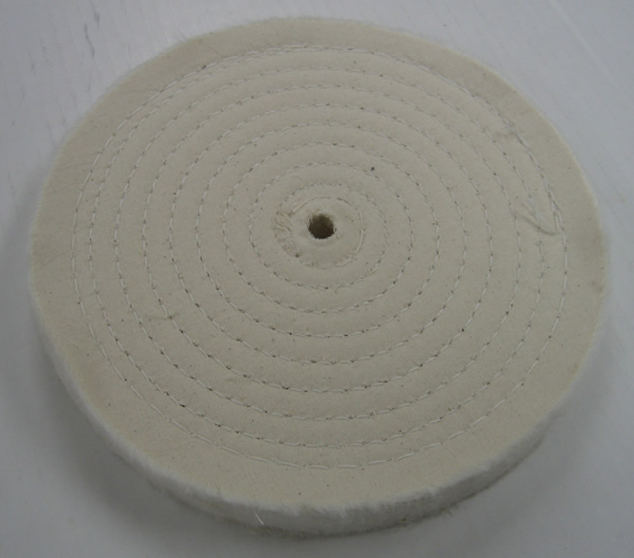 SPIRAL SEWN COTTON WHEEL - 8 X 7/8