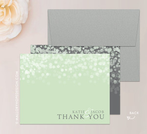 Champagne Bubbles Stationery or Thank You Card