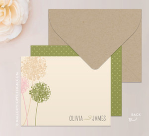 Dandelion Stationery or Thank You Card