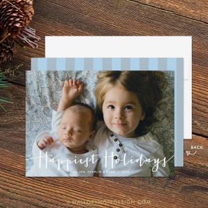 Happiest Holidays Photo Holiday Card