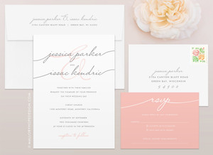 Handwriting Simplicity Wedding Invitations