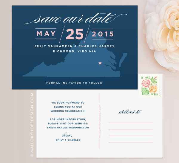 State Save the Date (Virginia)