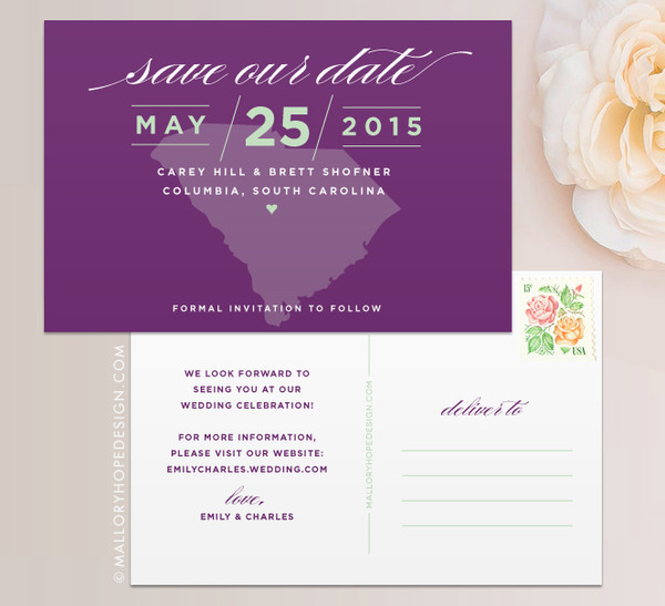 State Save the Date (South Carolina)