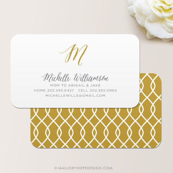 Ribbon Business Card