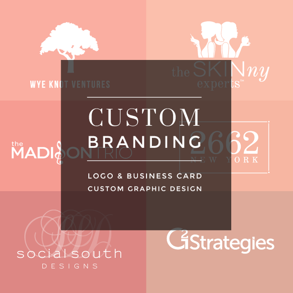 Custom Logo & Business Card Design