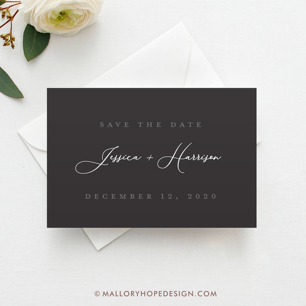 Romantic Save the Date