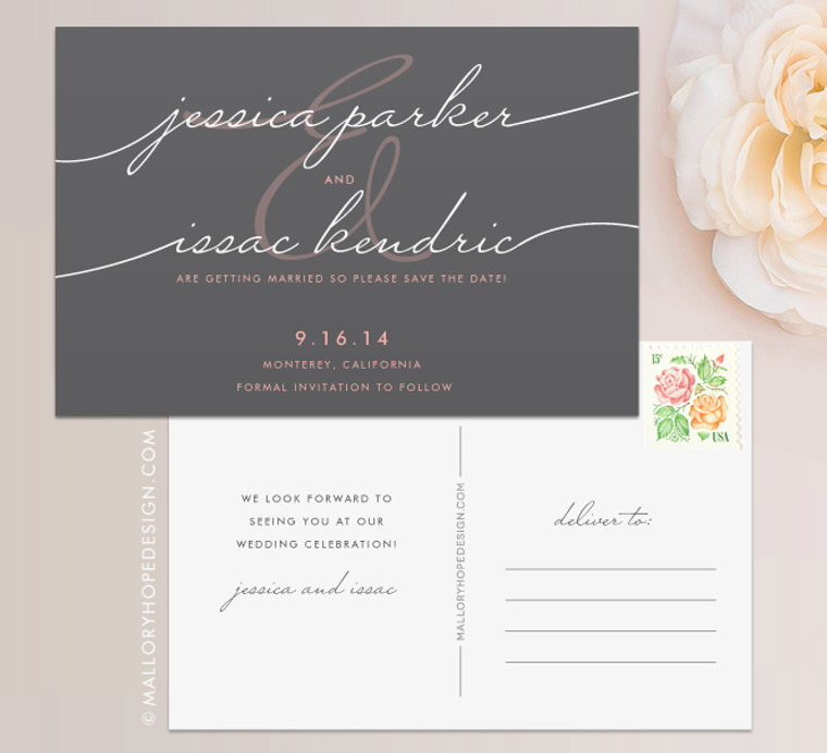 Handwriting Simplicity Save the Date