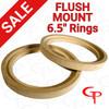 """GP 6.5"""" Flush Mount Speaker Rings 1 Pair"""