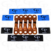 2/0 AWG COPPER LUGS & GP HEAT SHRINKS