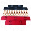 8 AWG Copper Lugs & GP Heat Shrink