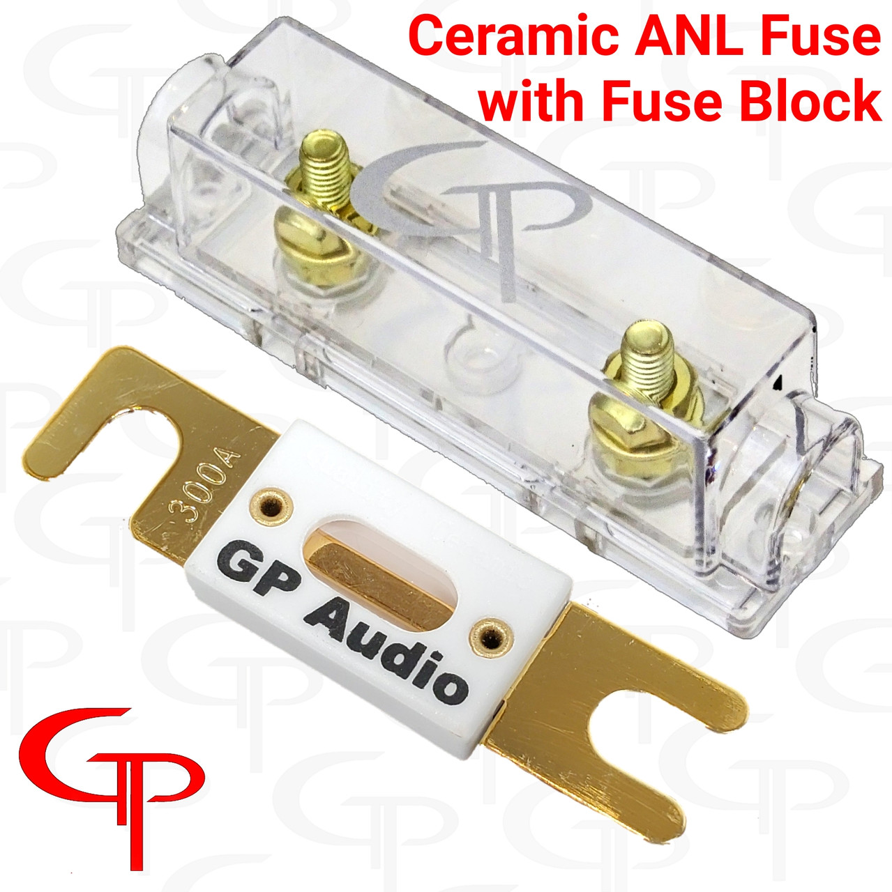 GP ANL FUSE BLOCK  & CERAMIC FUSE
