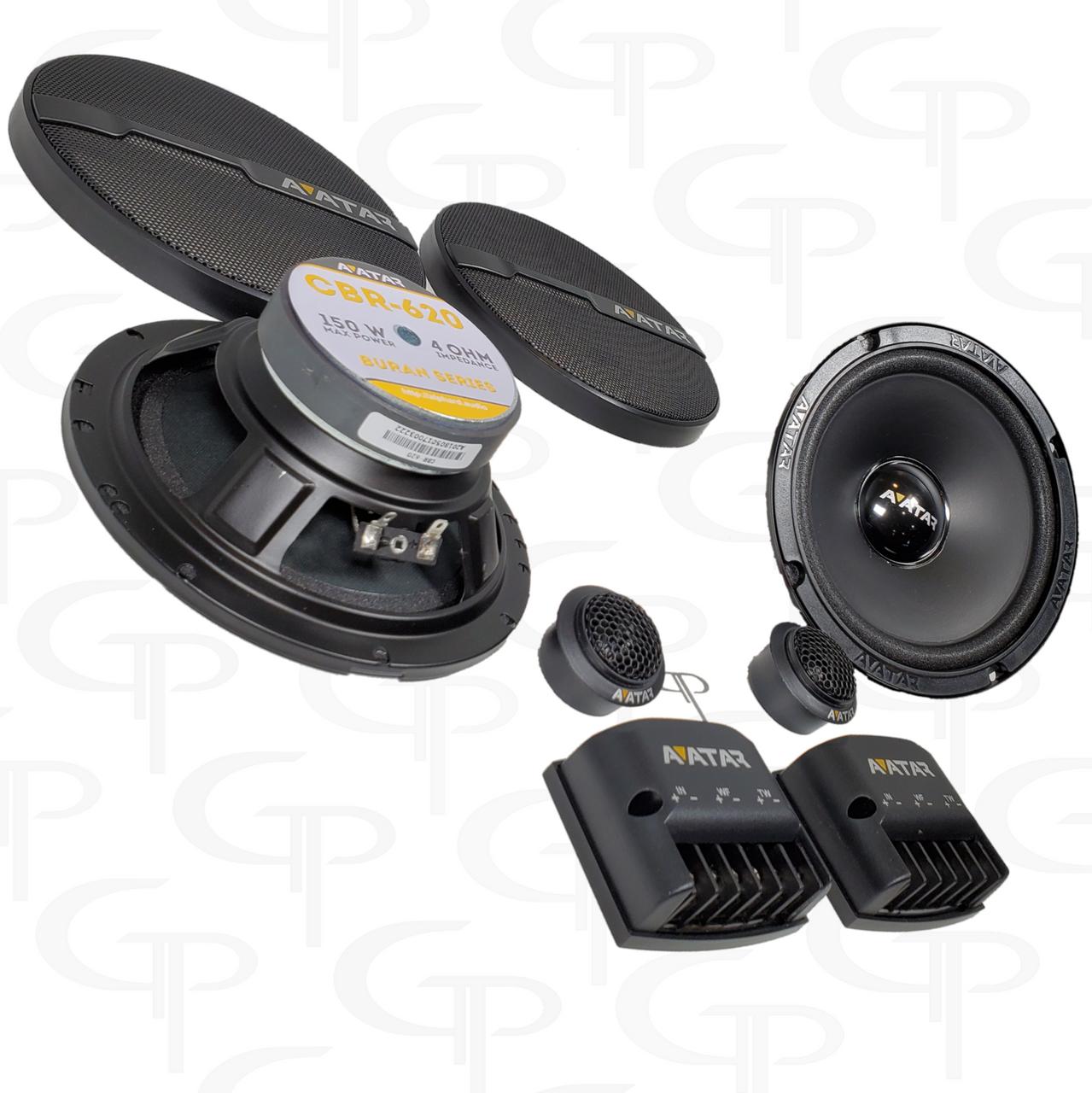 Avatar CBR-620 | 2-way Component System