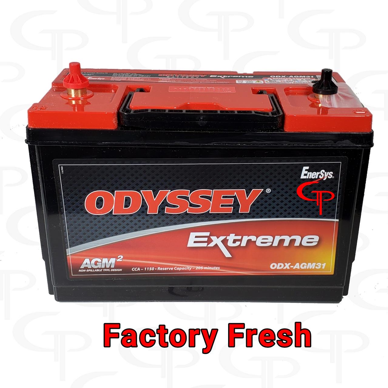 Odyssey Extreme ODX AGM31 (same battery as Northstar Pro AGM31)