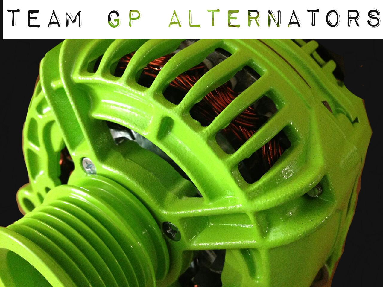 SUBARU OUTBACK 3.0L -2002- 200AMP TEAM GP Alternator