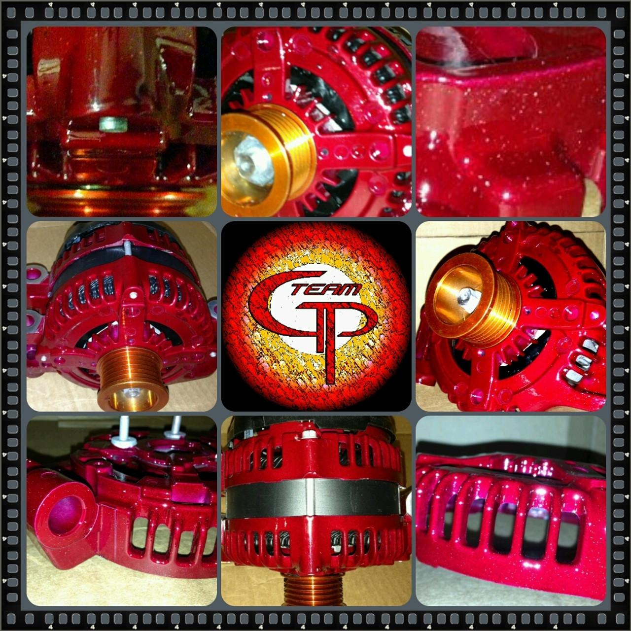 DODGE NEON 2.4L TURBO -2004-2005- 300AMP TEAM GP Alternator