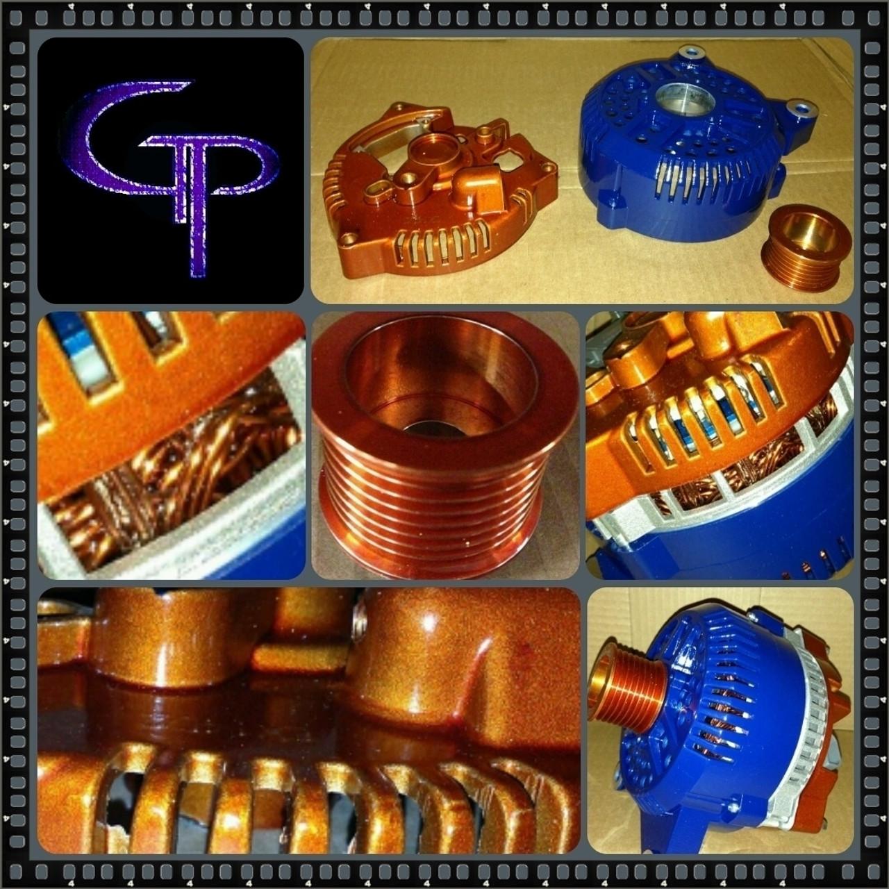 FORD MUSTANG 3.7L, 5.0L, 5.8L, -2014- 300AMP TEAM GP Alternator