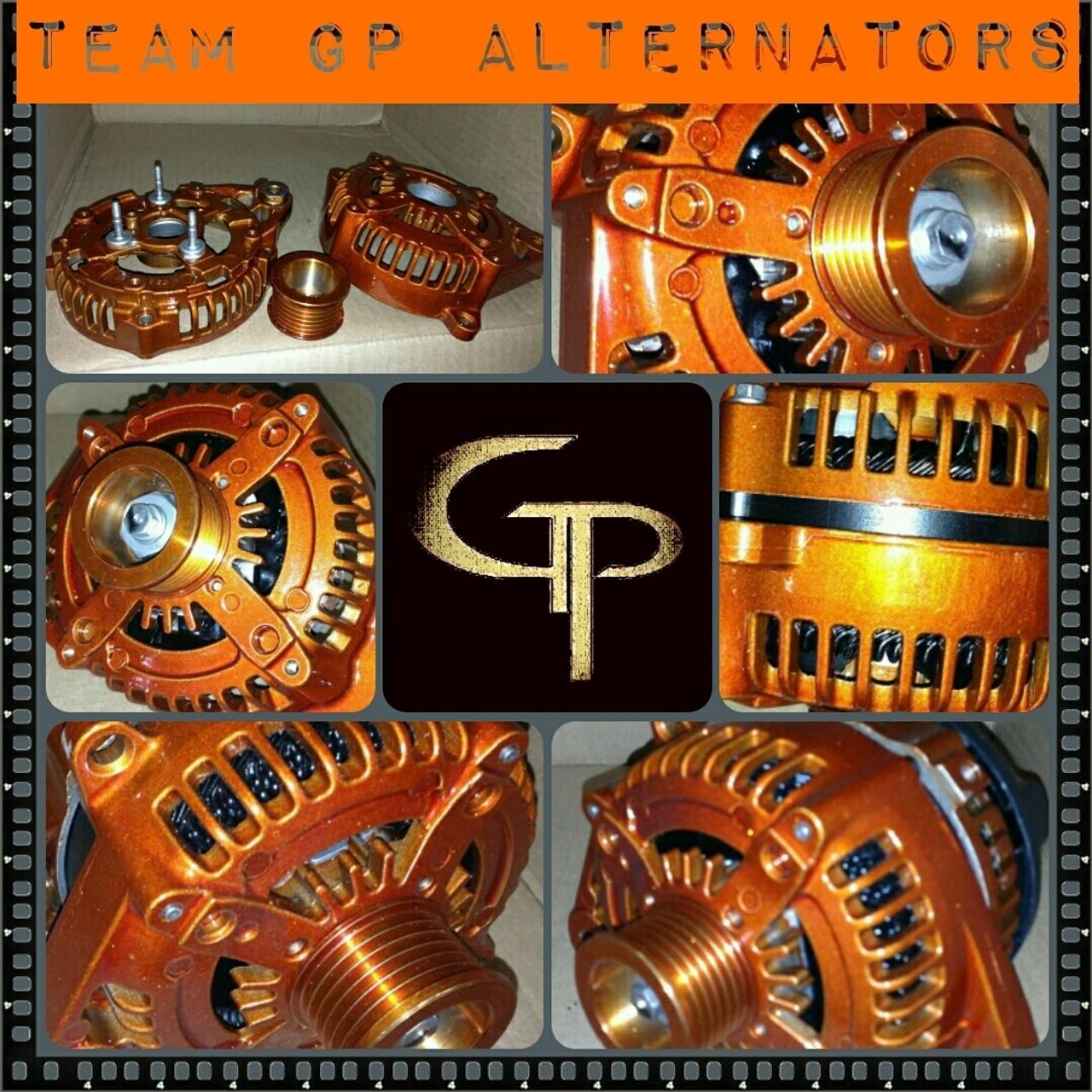 TOYOTA CAMRY 2.5L -2010-2014- 300AMP TEAM GP Alternator