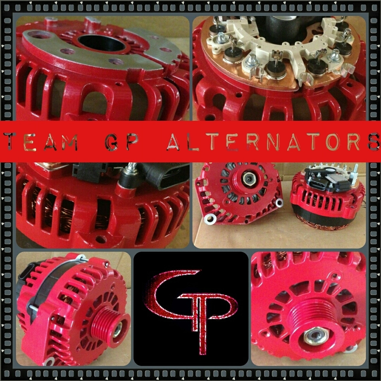 PONTIAC GRAND AM 2.2L, 2.4L, 3.4L -1999-2004- 200AMP TEAM GP Alternator