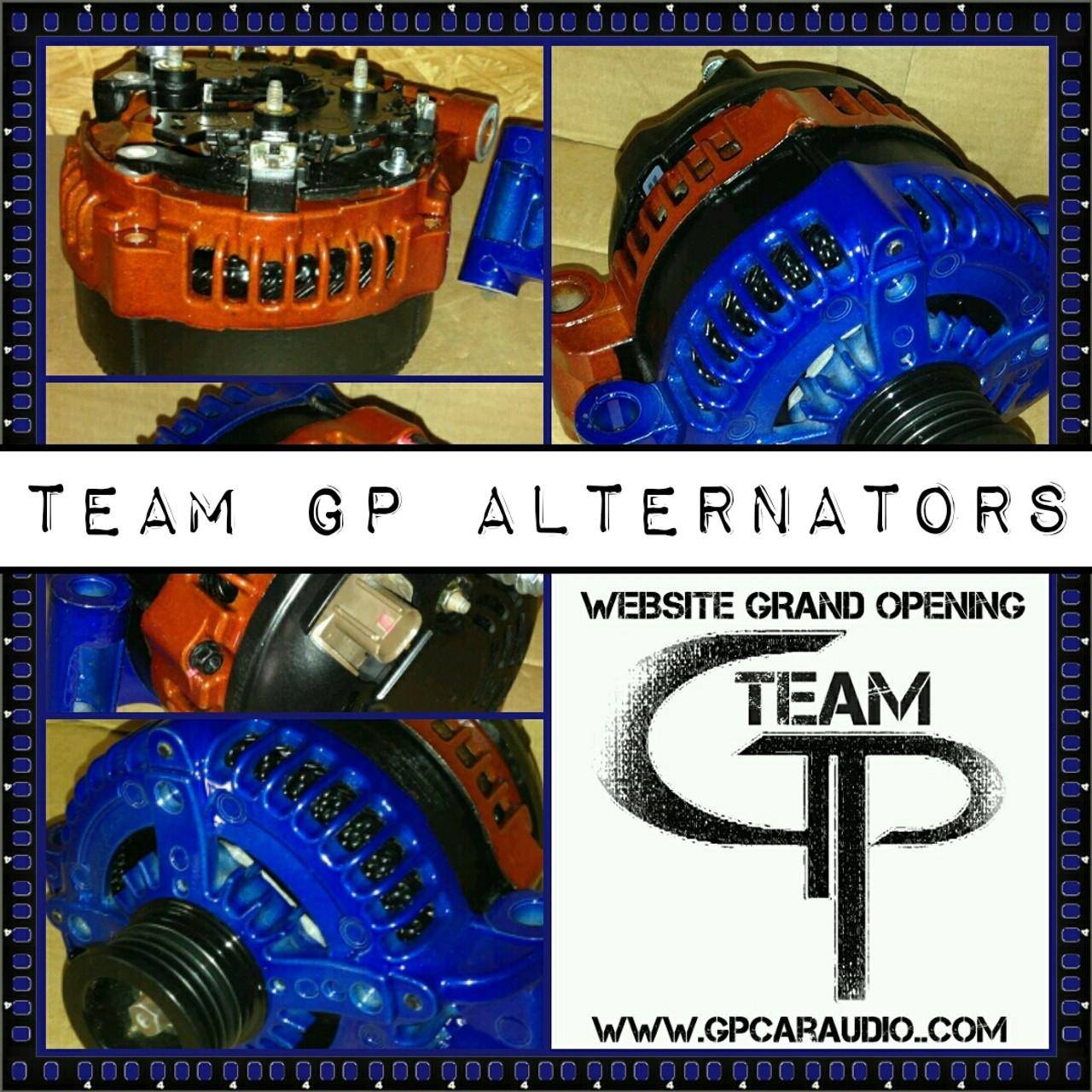 NISSAN 240SX 2.4L -1989- 180 AMP TEAM GP ALTERNATOR