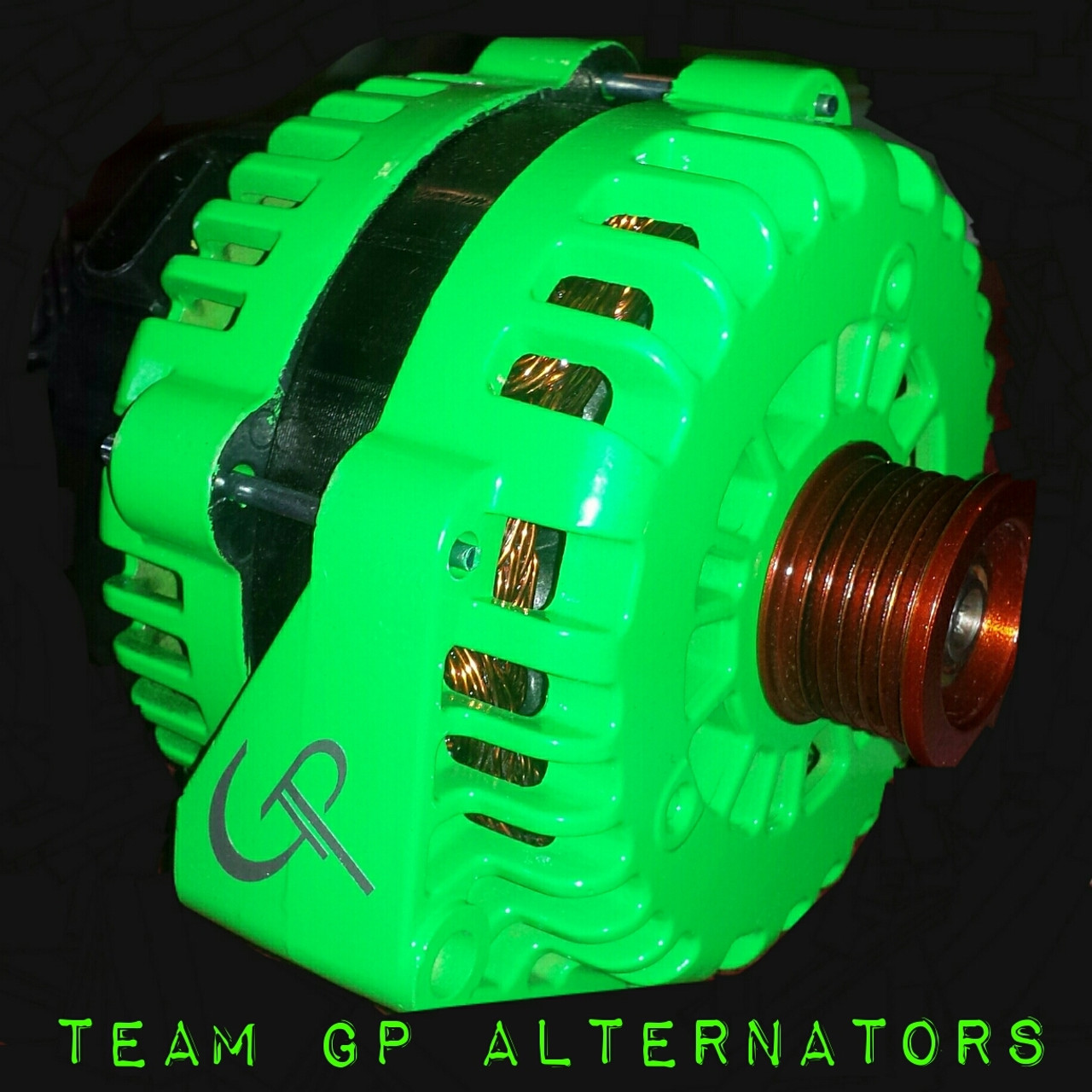 BMW 325i 2.5L -2001- 250 AMP TEAM GP Alternator