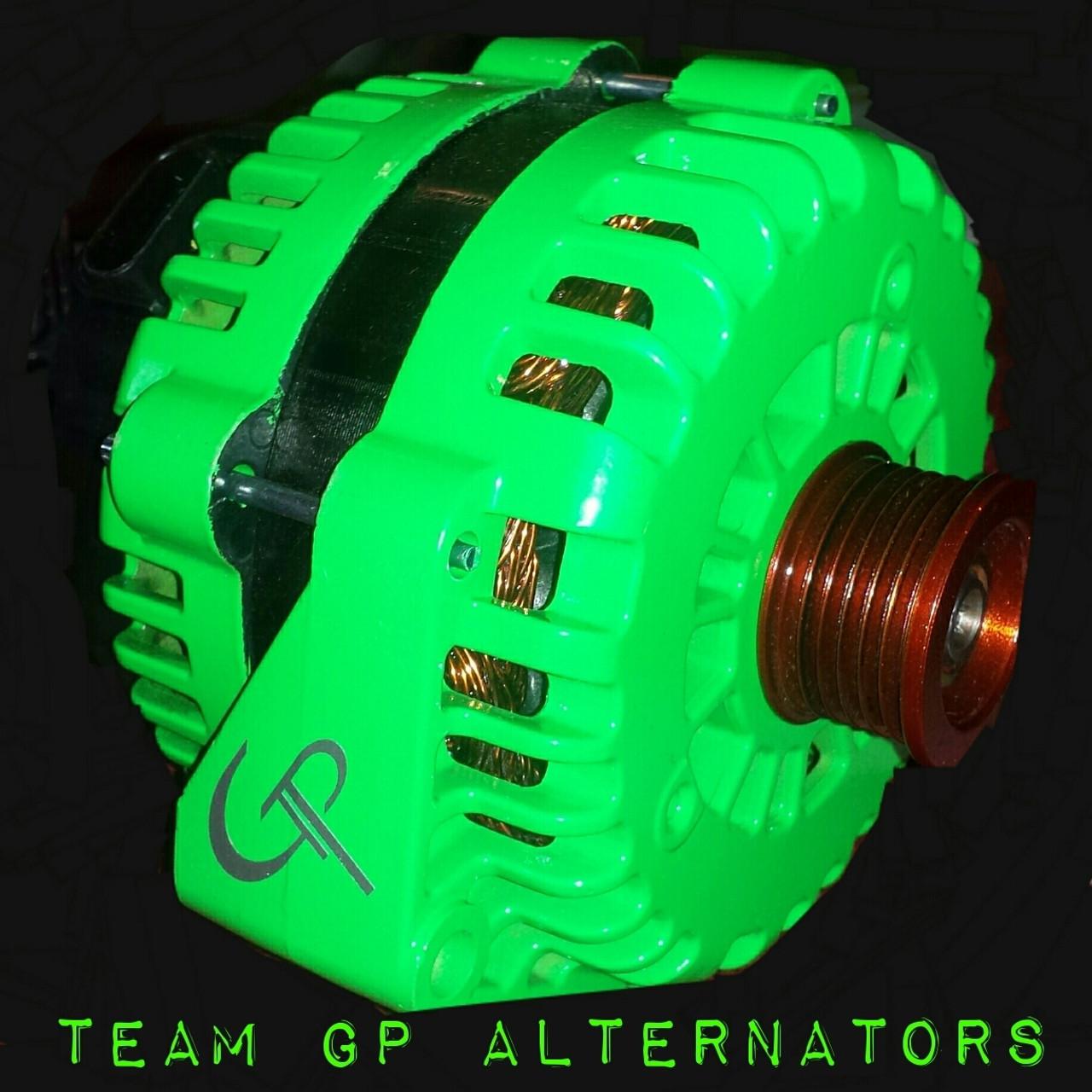 PONTIAC G6 3.5L -2006- 300 AMP HAIRPIN TEAM GP Alternator