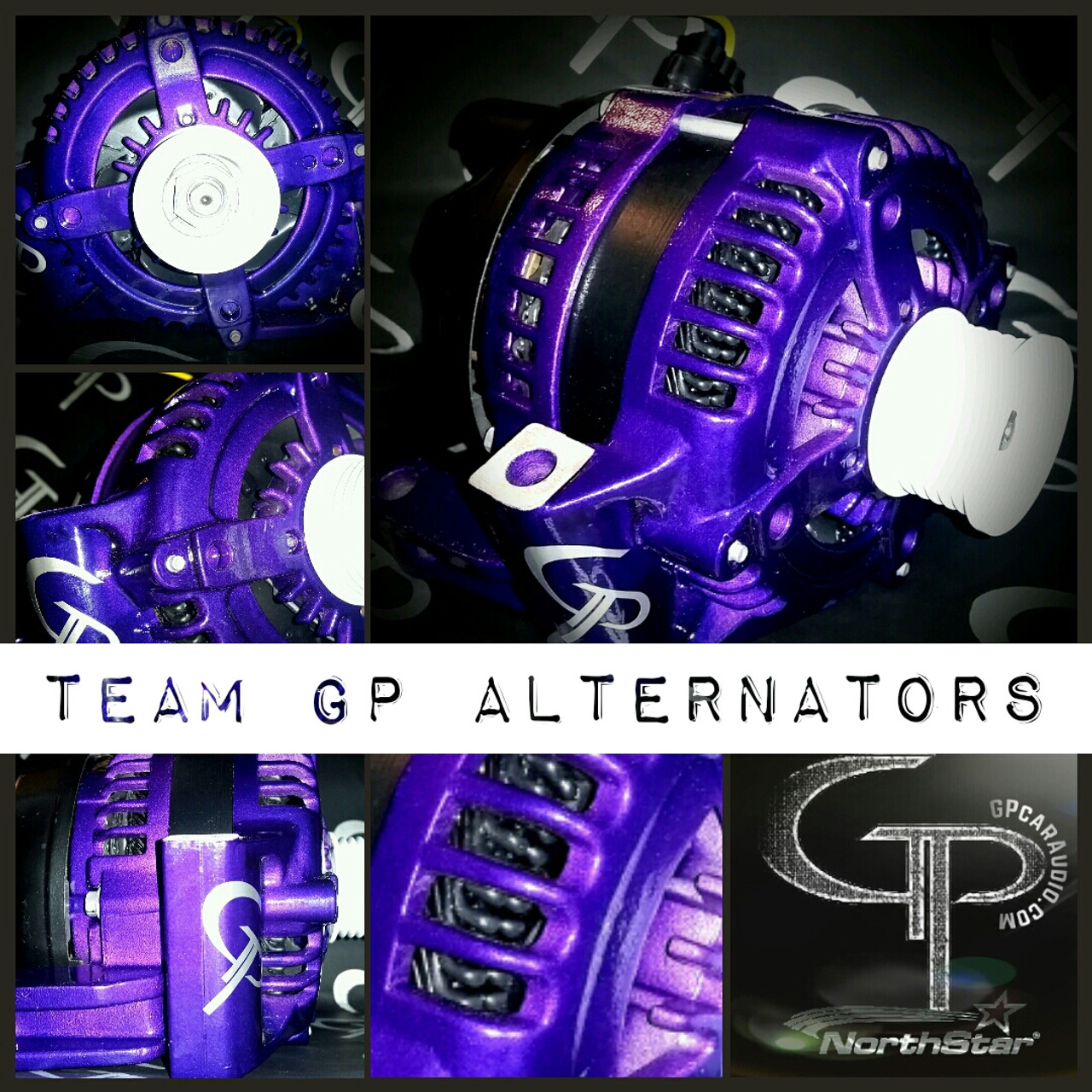 TOYOTA TUNDRA -2014-  5.7L 300 AMP HAIRPIN TEAM GP Alternator