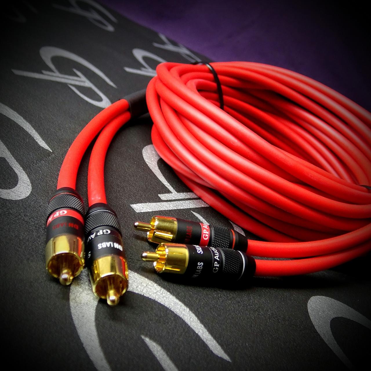 GP Audio DH LABS Ultra HiFi RCA's 22 feet 2 Channel