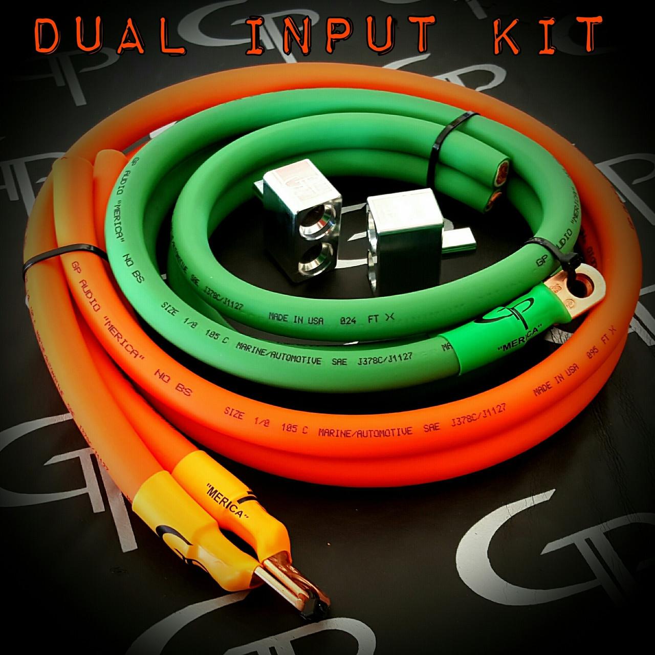 2/0 Dual Input Kit