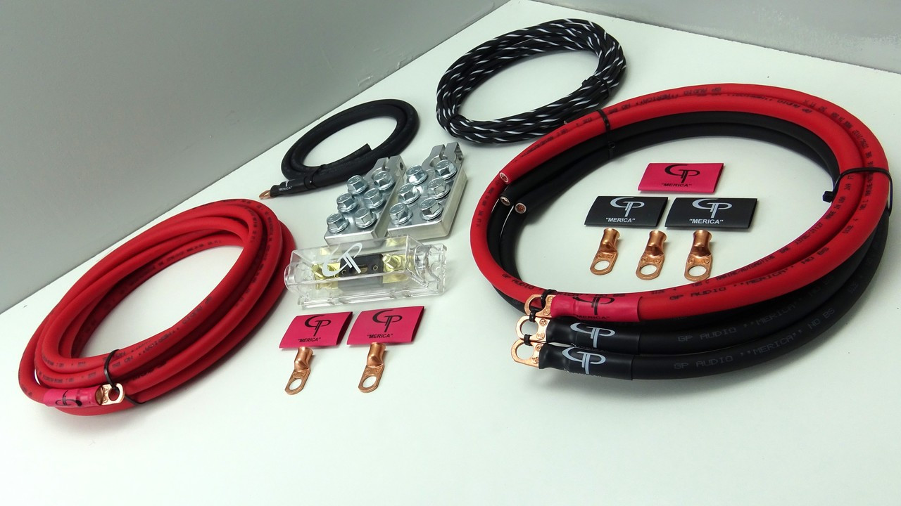 *The Complete: 4 AWG Stage 1 Wiring Kit on