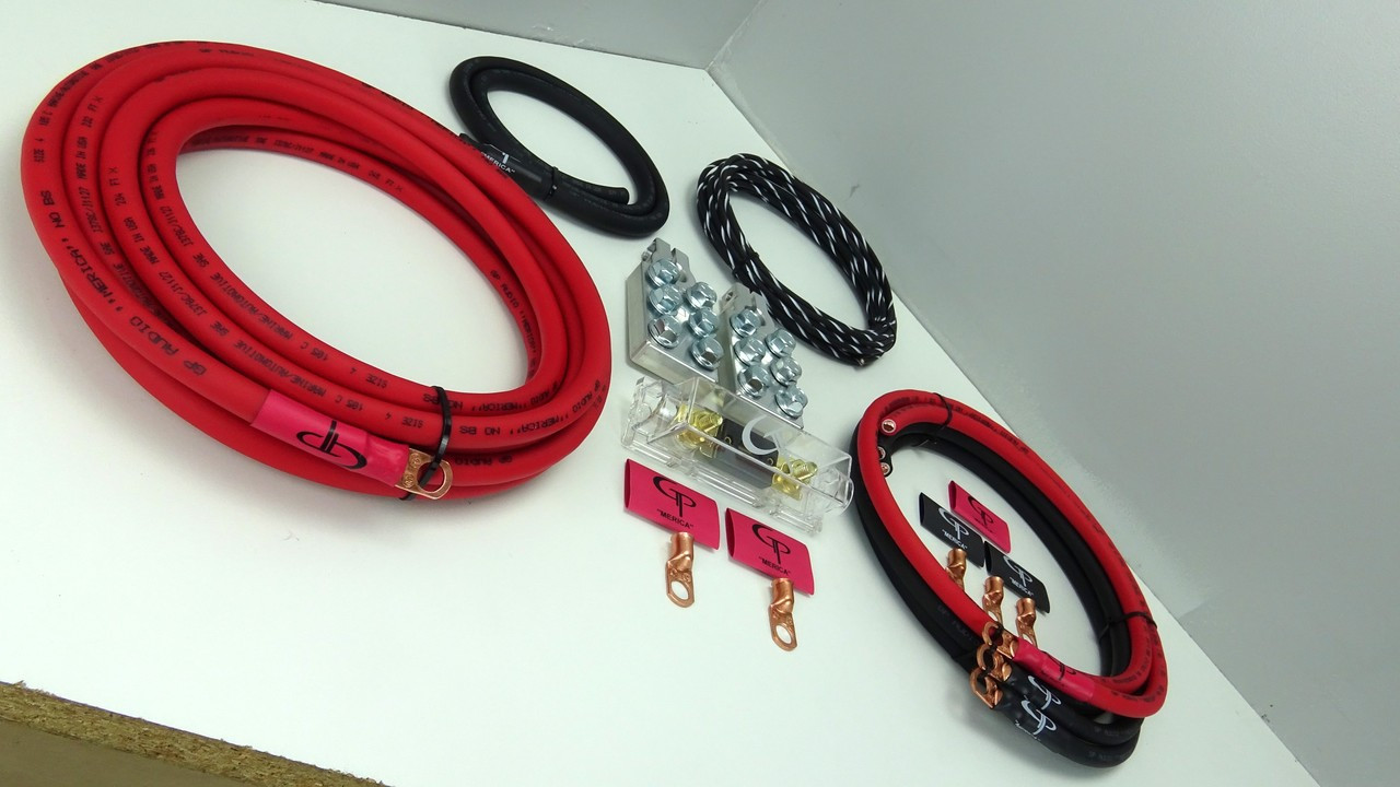 *The Complete: 4 AWG Stage 1 Wiring Kit