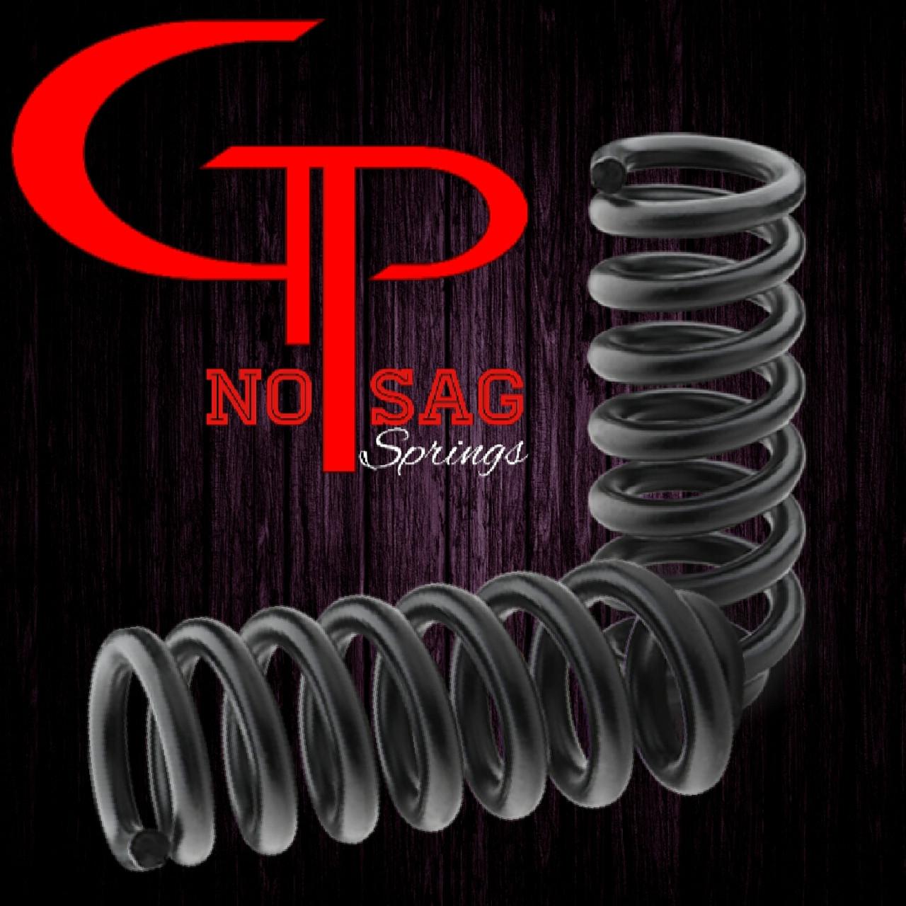 GP NO SAG REAR SPRINGS: CAR 500 to 1000lbs (1) PAIR