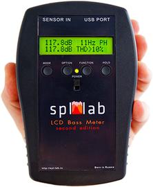 SPL LAB LCD BASS METER