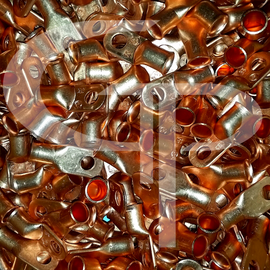 BULK GP UL Listed Pure Copper 1/0 AWG LUGS